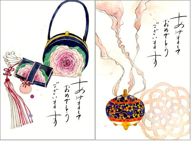 翔泳社「おしゃれ年賀状SELECTION 2013」